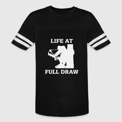 Life at full draw bowfishing - Vintage Sport T-Shirt
