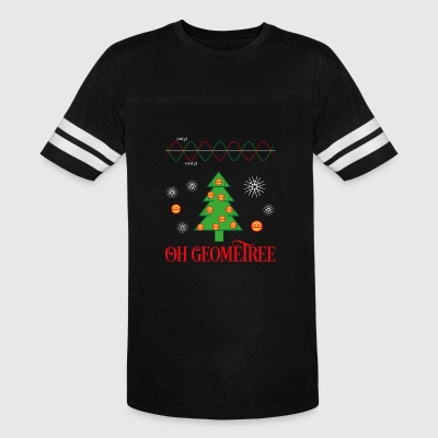 Geometry Ugly Christmas Sweater - Vintage Sport T-Shirt