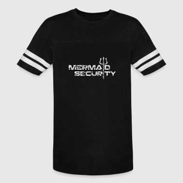 mermaid security - Vintage Sport T-Shirt