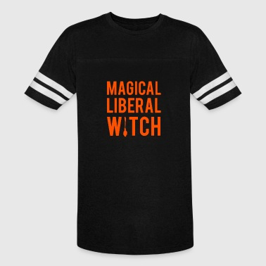 Magical liberal witches Halloween - Vintage Sport T-Shirt