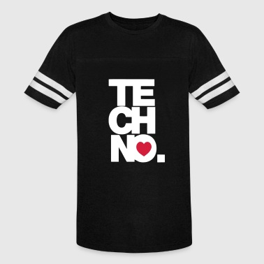 TECHNO MUSIC - Vintage Sport T-Shirt