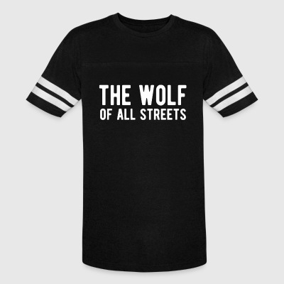 The Wolf Of All Streets T Shirt - Vintage Sport T-Shirt