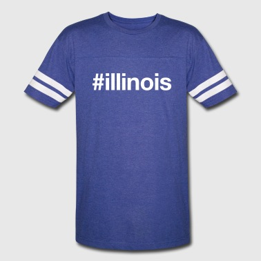 ILLINOIS - Vintage Sport T-Shirt