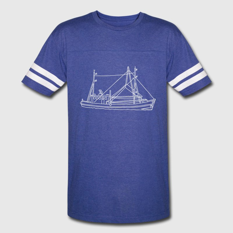 Fishing boat dogger - Vintage Sport T-Shirt