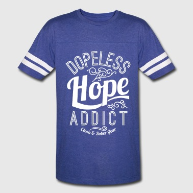 Clean And Sober Dopeless - Vintage Sport T-Shirt