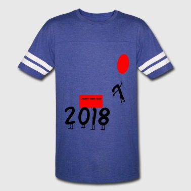 Goodbye 2017 Happy New Year 2018 Goodbye 2017 - Vintage Sport T-Shirt