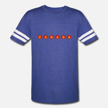 Flags Leaves CANADA IN LEAVES - Vintage Sport T-Shirt