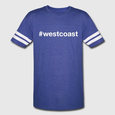WEST COAST - Vintage Sport T-Shirt