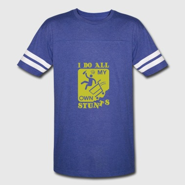 My Own Stunts My Own Stunts - Vintage Sport T-Shirt