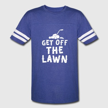 get off the lawn with lawn mower - Vintage Sport T-Shirt