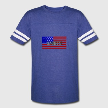 America Usa Sports SPORTS - AND - USA - Vintage Sport T-Shirt