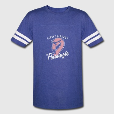 Single Flamingle - Vintage Sport T-Shirt