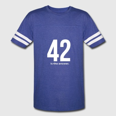Answers Jokes 42 Is The Answer - Vintage Sport T-Shirt