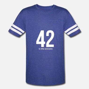 42 Is The Answer 42 Is The Answer - Vintage Sport T-Shirt