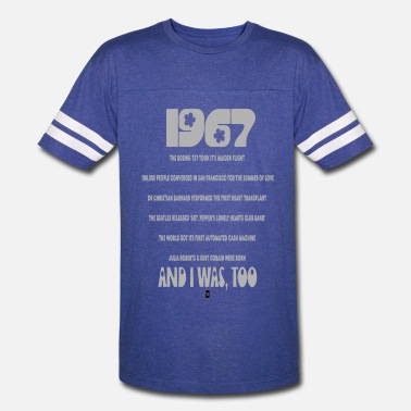Mens 50th Birthday 1967 50th birthday - Vintage Sport T-Shirt