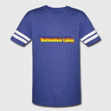 Bottomless Bottomless Lakes State Park New Mexico Repeat - Vintage Sport T-Shirt