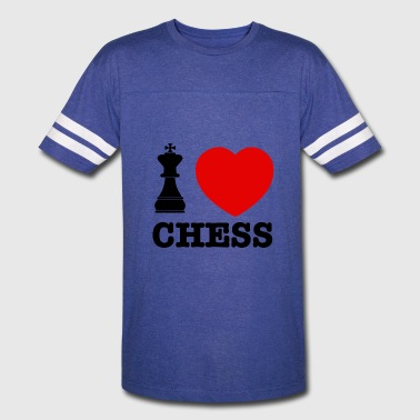 Chess Clothes chess love - Vintage Sport T-Shirt