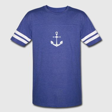 anchor (1c) - Vintage Sport T-Shirt