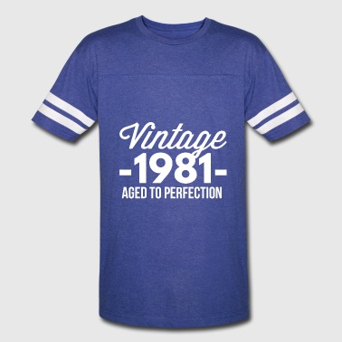 Vintage 1981 aged to perfection - Vintage Sport T-Shirt