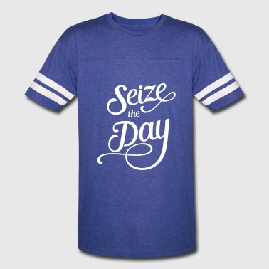 Seizing Seize The Day - Vintage Sport T-Shirt