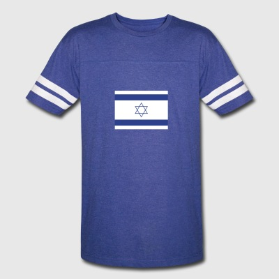 National Flag Of Israel - Vintage Sport T-Shirt