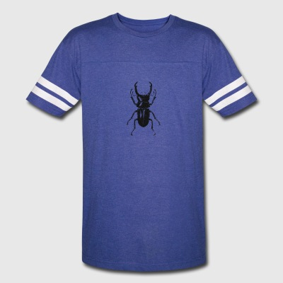 Retro Insect Beetle Entomology distressed Design - Vintage Sport T-Shirt