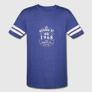 Life begins at 49 1968 The birth of legends - Vintage Sport T-Shirt