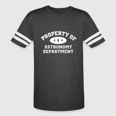 Property Of Astronomy Department - Vintage Sport T-Shirt