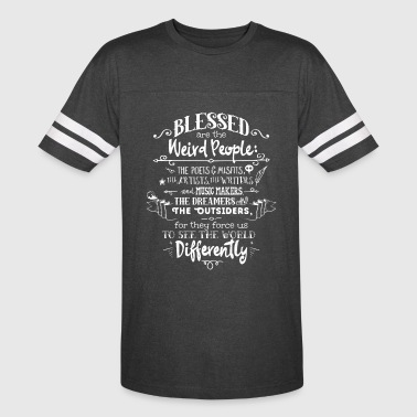 Blessed Weird People - Vintage Sport T-Shirt