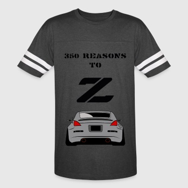 350 RESONS TO Z - Vintage Sport T-Shirt