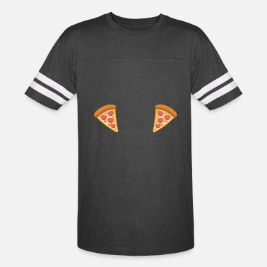 Boobs Female Pizza Boobs * - Unisex Vintage Sport T-Shirt