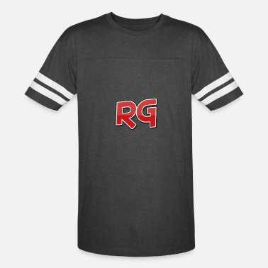 Rg Rizzy Gaming White Stripes - Vintage Sport T-Shirt