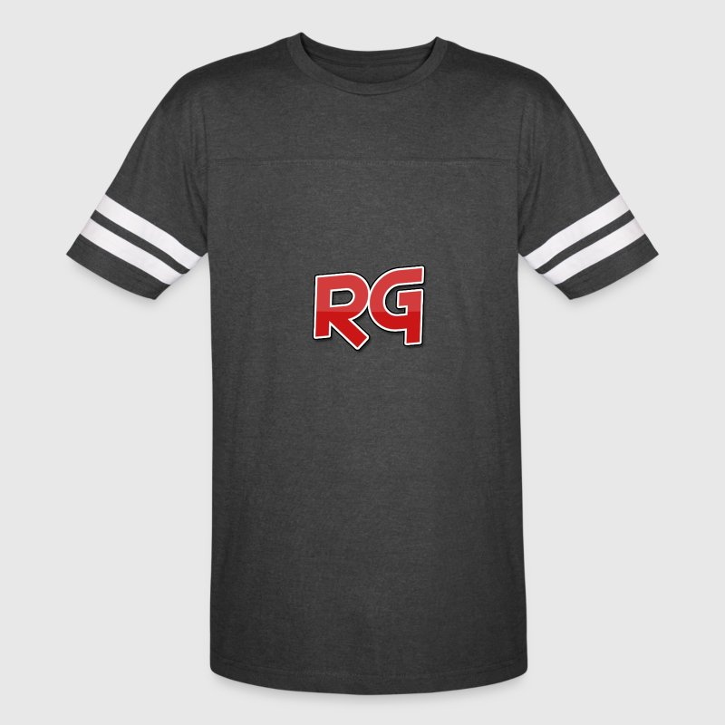Rizzy Gaming White Stripes - Vintage Sport T-Shirt