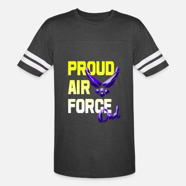Air Force Dad Proud Air Force Dad - Vintage Sport T-Shirt