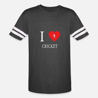 Kricket. I Love CRICKET kricket - Vintage Sport T-Shirt