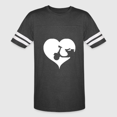Heart scooter driver - Vintage Sport T-Shirt