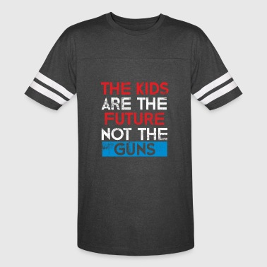 Future Kids The Kids are the future not the guns - Vintage Sport T-Shirt