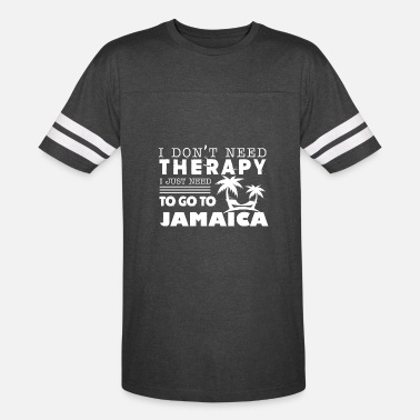 Jamaica Womens Jamaica Therapy Shirt - Vintage Sport T-Shirt