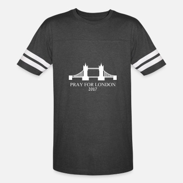 London Pray for London - Unisex Vintage Sport T-Shirt