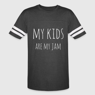 My Kids Are My Jam - Vintage Sport T-Shirt