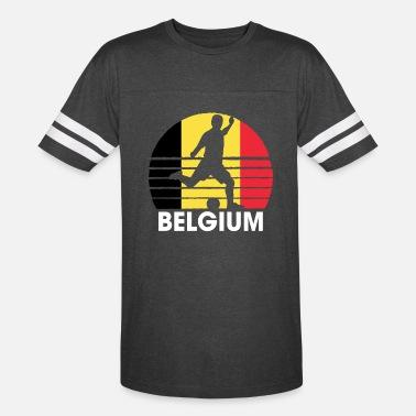 5b7a50d4641 Belgium National Soccer Team Belgium Soccer Football BEL - Unisex Vintage  Sport T-Shirt