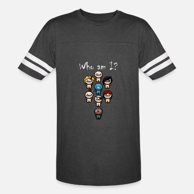 Isaac Who am I? - Vintage Sport T-Shirt