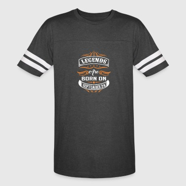 September 24 Legends are born on September 24 - Vintage Sport T-Shirt