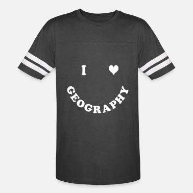 I Love Geography I love Geography - Vintage Sport T-Shirt