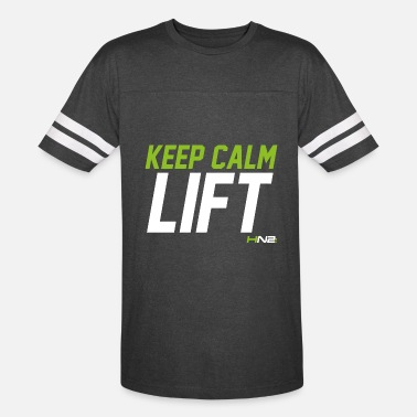 Keep Calm And Lift On Keep Calm Lift - Vintage Sport T-Shirt