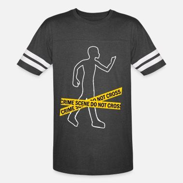 Scene Crime Scene men t-shirt by American apparel - Unisex Vintage Sport T-Shirt