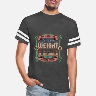 Heavyweight Sports - Heavyweight - The Greatest - Unisex Vintage Sport T-Shirt