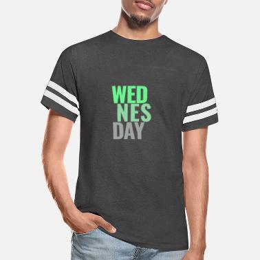 Day Of The Week Wednesday Days of the Week T-Shirt - Unisex Vintage Sport T-Shirt
