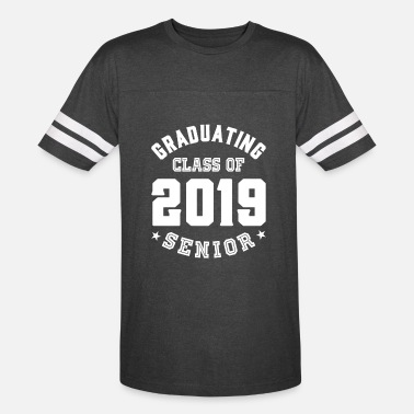 Senior Graduation Graduating Class Of 2019 Senior - Unisex Vintage Sport T-Shirt