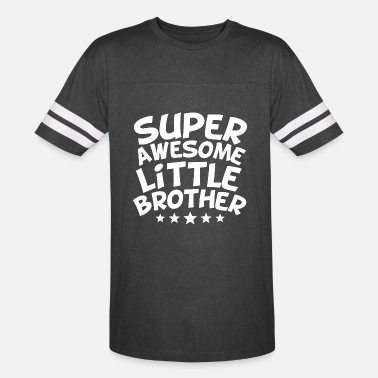 Little Super Awesome Little Brother - Unisex Vintage Sport T-Shirt